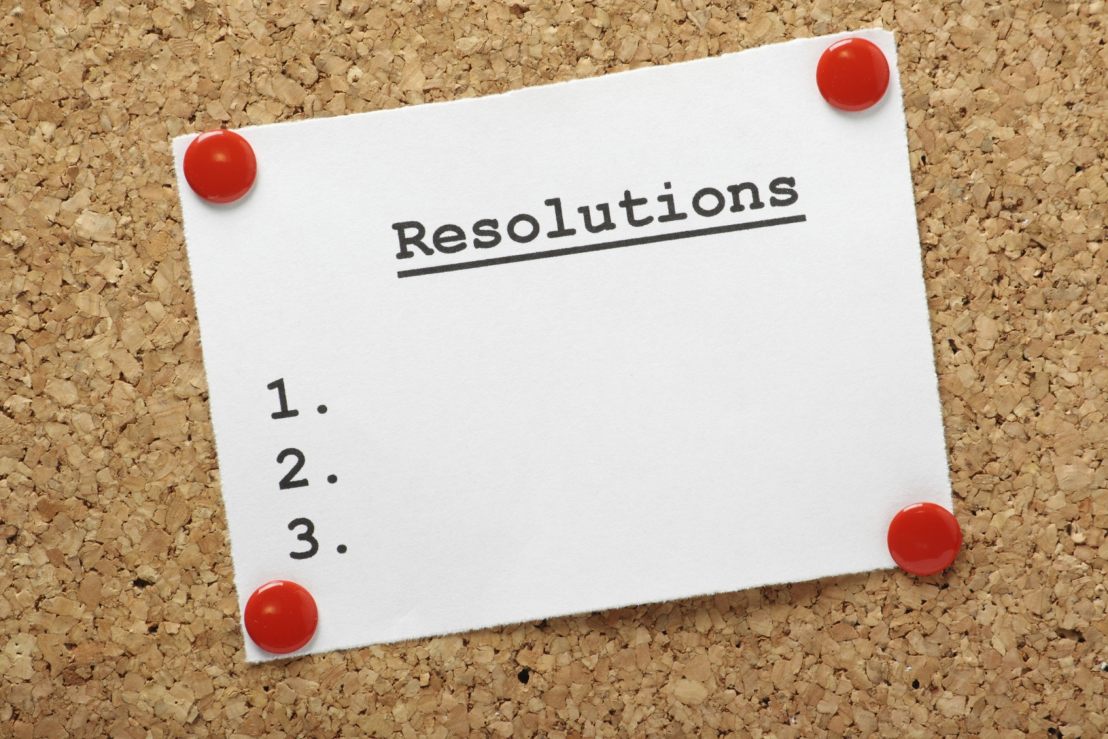 WoN - New Year Resolutions!